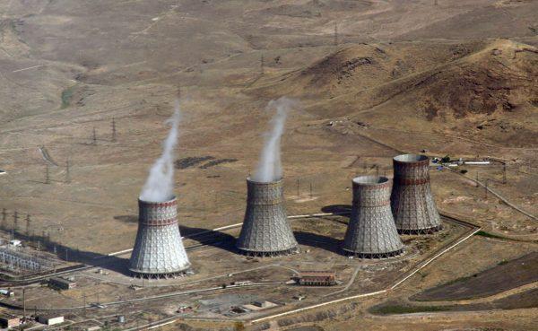 Elektrownia jądrową Metsamor (fot. Bouarf/Wikimedia Commons)