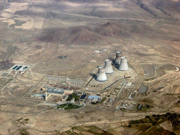 Elektrownia jądrową Metsamor (fot. Wikimedia Commons)