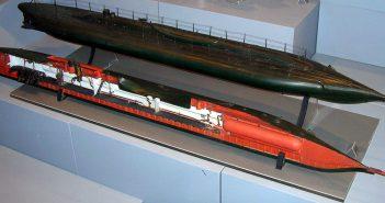 Plongeur - pierwszy okręt podwodny z napędem mechanicznym