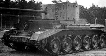 """A30 Challenger - """"tymczasowy czołg"""""""