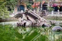 Wrak B-52 w Hanoi