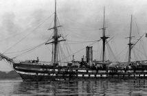 Couronne - pierwszy francuski żelaznokadłubowy okręt wojenny