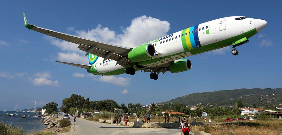 Port lotniczy Skiatos - greckie Sint Maarten