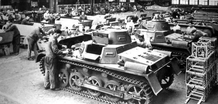 PzKpfw I – pierwszy czołg III Rzeszy