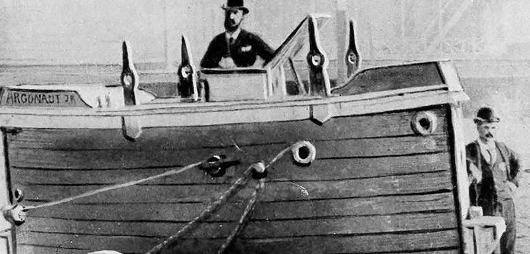 Simon Lake i jego Argonaut