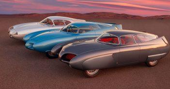 Niesamowite koncepcyjne samochody Berlina Aerodinamica Tecnica z lat 50.