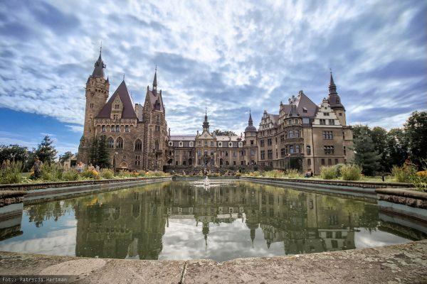 Pałac w Mosznej (fot. Patrycja Hartman)