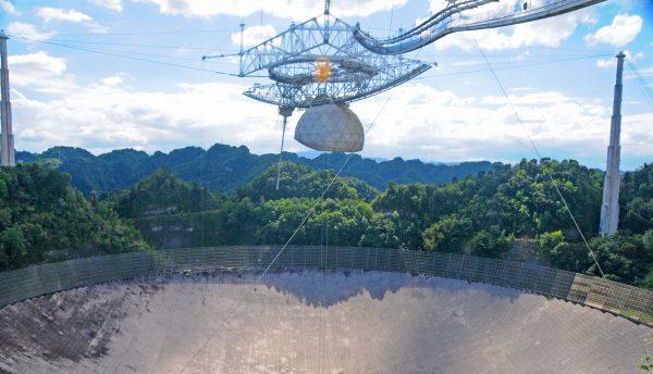 Obserwatorium Arecibo (fot. David Broad)