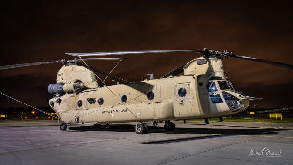 Boeing CH-47 Chinook (fot. Michał Banach)