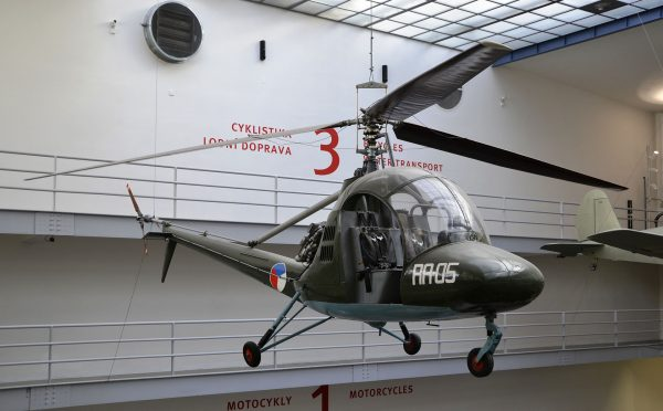 Aero HC-2 Heli Baby (fot. High Contrast/Wikimedia Commons)