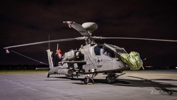 Boeing AH-64 Apache (fot. Michał Banach)