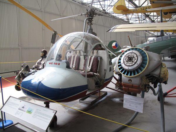 Aero HC-2 Heli Baby (fot. Dezidor/Wikimedia Commons)