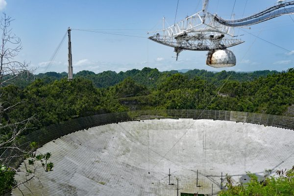 Obserwatorium Arecibo (fot. Mario Roberto Durán Ortiz)