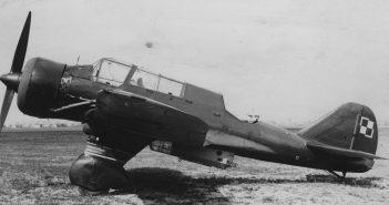 Lekki bombowiec PZL.23 Karaś