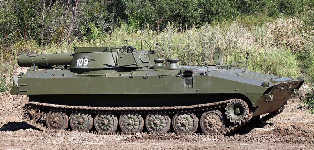 UR-77 Meteorit - pojazd do oczyszczania pól minowych