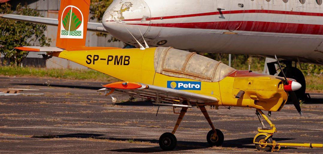 Zapomniany lekki samolot rolniczy PZL-126 Mrówka