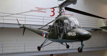 Aero HC-2 Heli Baby - jedyny czechosłowacki śmigłowiec