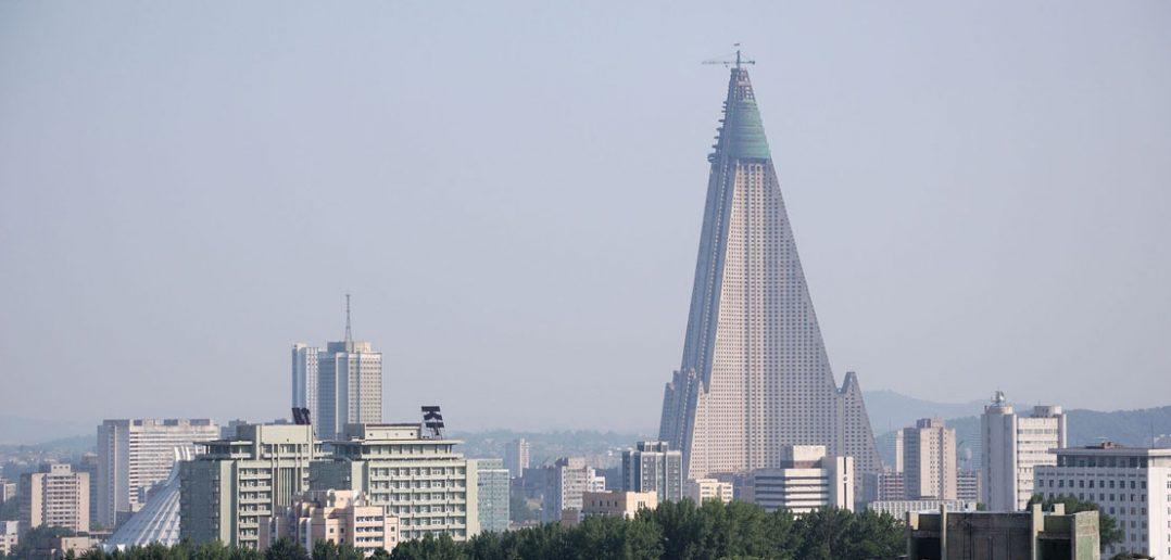 Ryugyong Hotel - najwyższy budynek w Korei Północnej