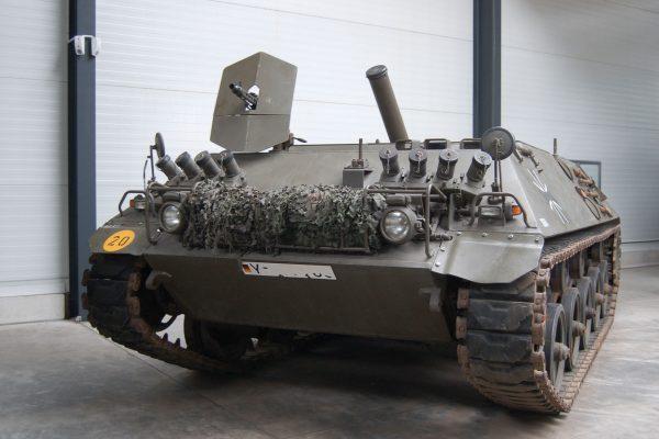 SPz 12-3 Panzermörser (fot. Huhu/Wikimedia Commons)