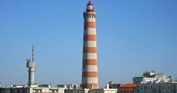 Praia da Barra - najwyższa latarnia morska w Portugalii