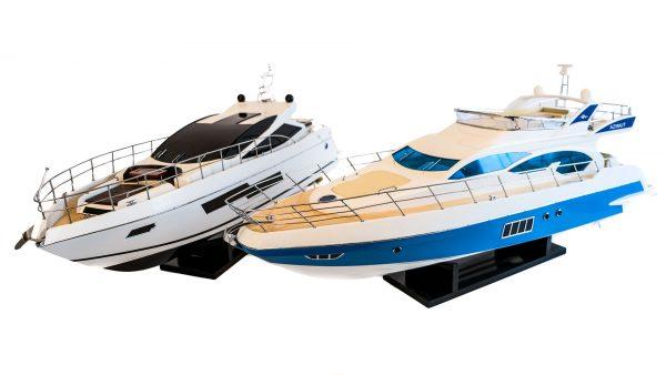 Modele łodzi