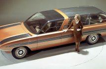 Koncepcyjne Fordy Aurora I i Aurora II z lat 60.