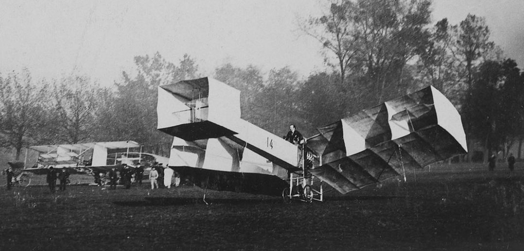 Santos-Dumont 14-bis - (prawie) pierwszy samolot