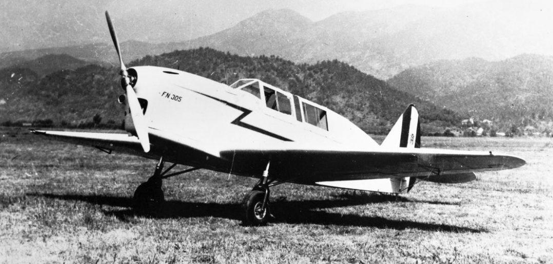 Samolot szkolno-myśliwski Nardi FN.305