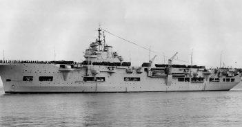 HMS Unicorn - prawie lotniskowiec