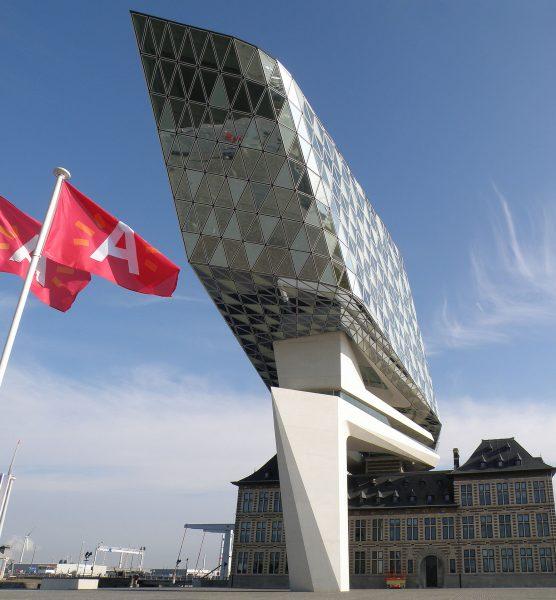 Budynek Zarządu Portu w Antwerpii (fot. Torsade de Pointes)