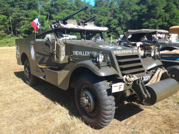 M3A1 Scout Car (fot. Guillaume Vachey)