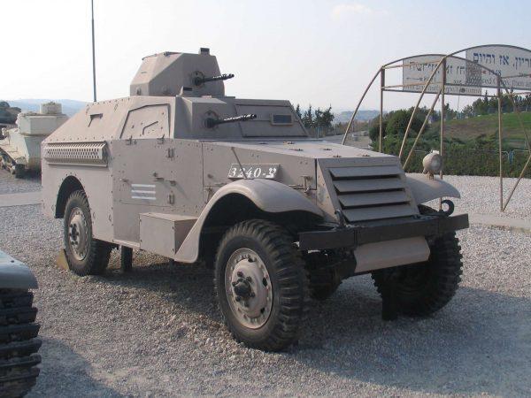 M3A1 Scout Car w Izraelu (fot. Bukvoed/Wikimedia Commons)