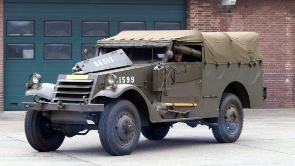 M3A1 Scout Car (fot. Alf van Beem)
