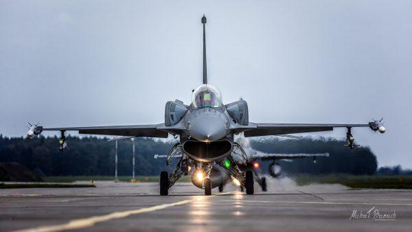 Lockheed Martin F-16C Jastrząb (fot. Michał Banach)