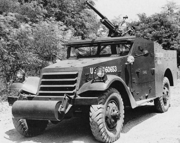 M3A1E3 Scout Car