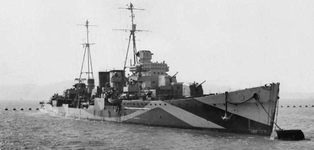 HMS Delhi - od krążownika po krążownik przeciwlotniczy