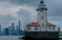 Chicago Harbor Light - ikona Chicago