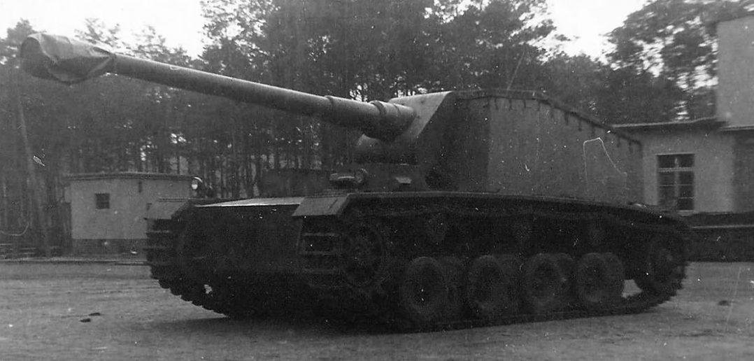 Sturer Emil - eksperymentalny niemiecki niszczyciel czołgów