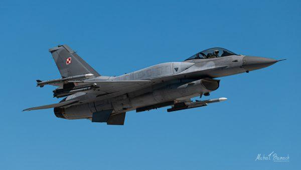 Lockheed Martin F-16C Jastrząb (4065) (fot. Michał Banach)