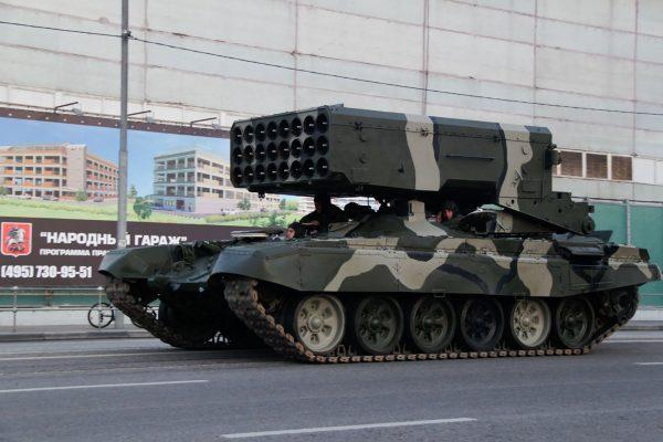 TOS-1 (fot. Vitaliy Ragulin)