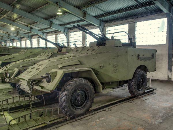 BTR-40 (fot. Alf van Beem)