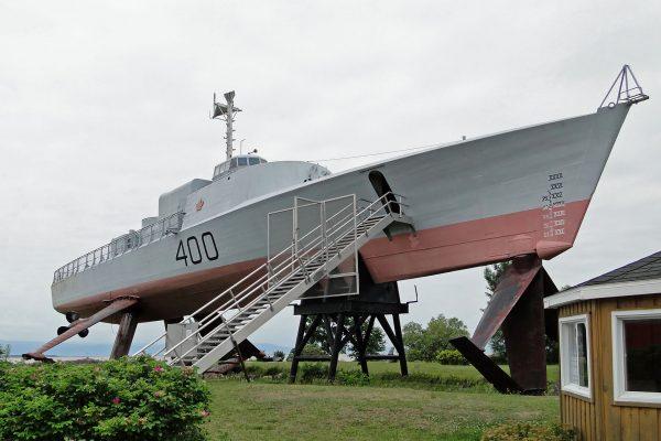 HMCS Bras d'Or (fot. Bernard Gagnon)