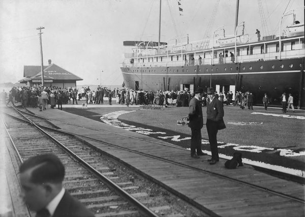 SS Keewatin (fot. City of Toronto Archives)