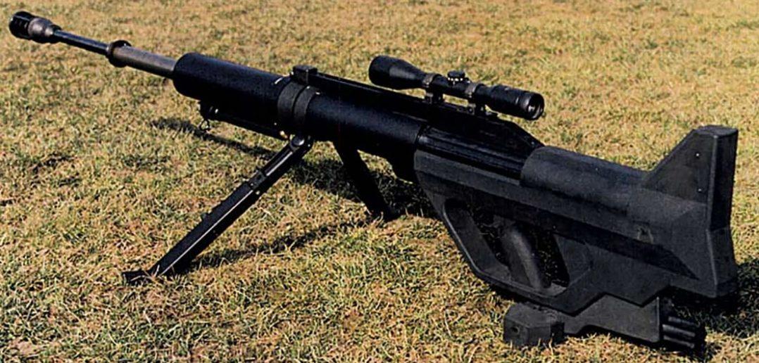 Steyr IWS 2000 - wielkokalibrowy karabin wyborowy