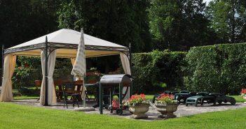 Namioty ogrodowe – zastosowanie prostych rozwiązań w praktyce