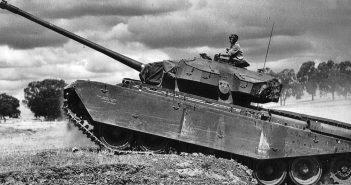 A41 Centurion (FV4007) - pierwszy brytyjski czołg podstawowy