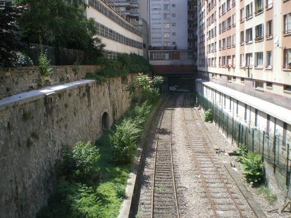 Chemin de fer de Petite Ceinture (fot. Akiry/Wikimedia Commons)