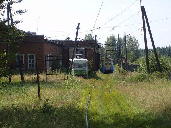 Zajezdnia tramwajowa w Wołczańsku (fot. Oleg NT/Wikimedia Commons)