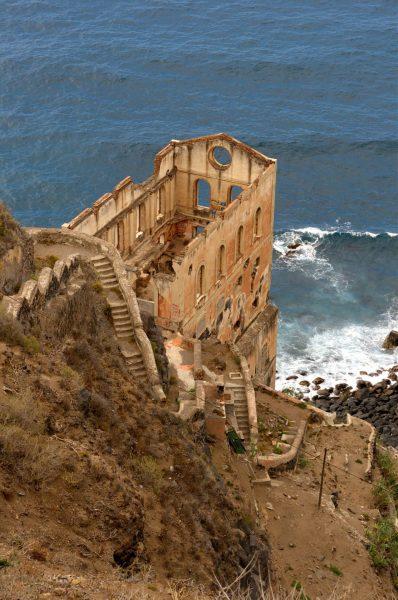 Ruiny Elevador de Aguas de Gordejuela (fot. Javier Sanchez Portero)