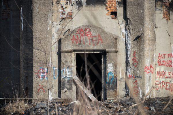 Ruiny Huty Metali Nieżelaznych Szopienice (fot. Patrycja Hartman)